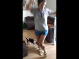 Танцы в тапках-баранах
