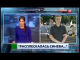 ВДВшник в парке Горького избил корреспондента НТВ в прямом эфире (02.08.2017)