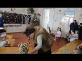 на новогоднем утреннике у внучки Евы б.Лена в роли Бабы Яги.