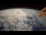 Метеор, увиденный с Международной космической станции
