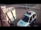 Нападение на пост ДПС в Ингушетии попало на видео