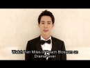 Exclusive Shout-Out From Yu Meng Long Watch Ten Miles Of Peach Blossoms on DramaFever!