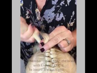 Доступный урок по плетению косички