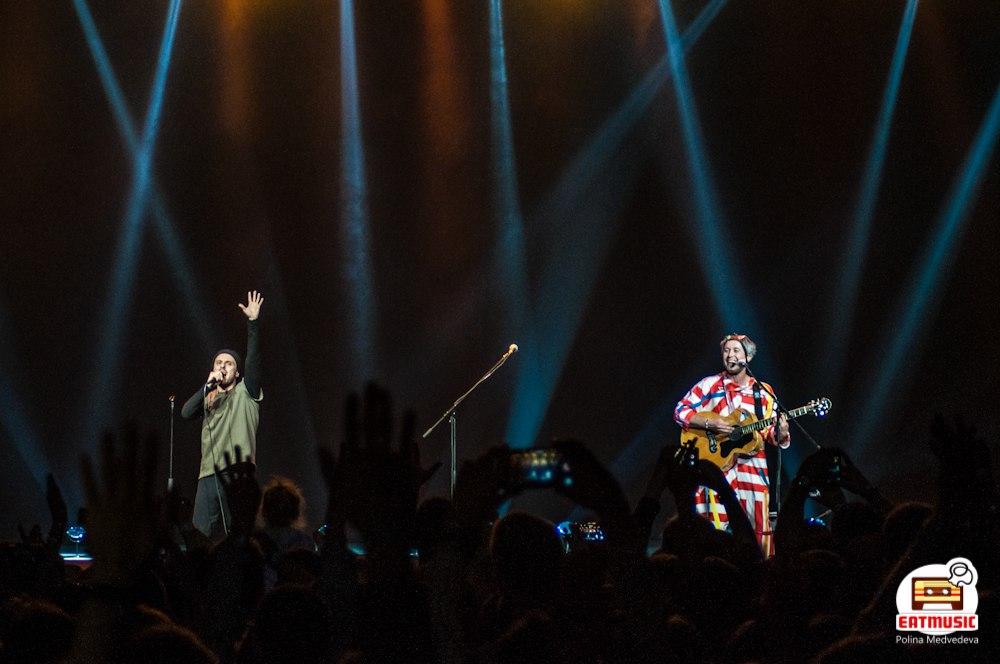 Концерт группы 5nizza в Crocus City Hall 19.05.2017: репортаж, фото Полина Медведева