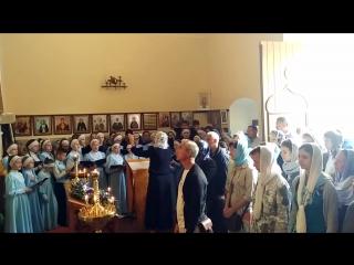 Архиерейский детский хор Духовно-просветительского центра при Пензенском епархиальном управлении под руководством М.В. Никитиной