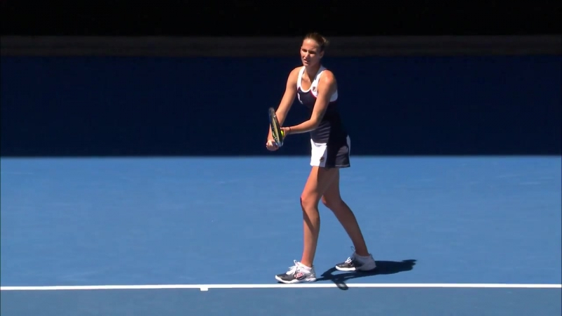 Pliskova v Blinkova match highlights (2R) _ Australian Open 2017