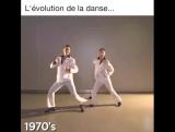 Эволюция танца за 90 лет