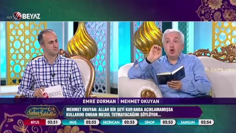 Mehmet Okuyan'la Sahur Sohbetleri 8 Haziran