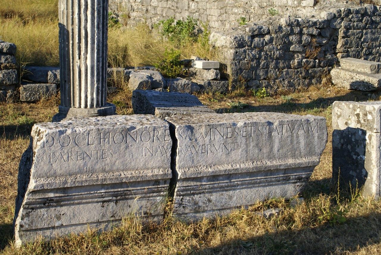Единственный древнеримский город в Черногории