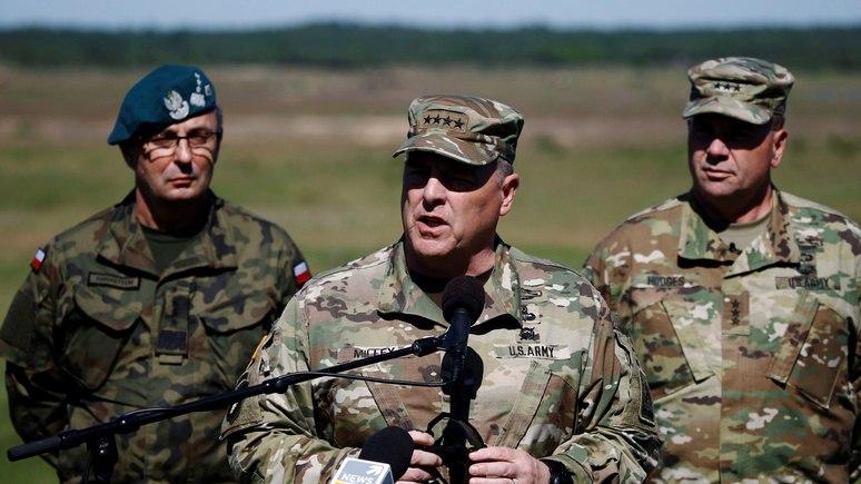 Генерал НАТО заявил, что на дворе не XVIII век