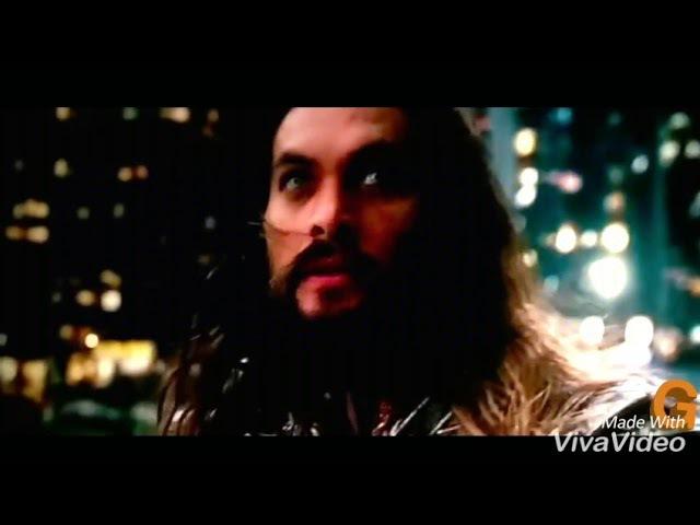 Justice league: movie superman attacks