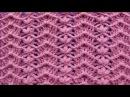 Punto a crochet FLORES combinado con puntos ZIG ZAG paso a paso para mantitas de bebe