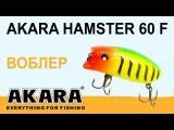 Обзор воблера Akara Hamster 60F