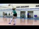 Волейбол обучение. Девушки. Нападающий удар. Тренировка. Часть 7