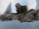 Монголия Алтай Постройка снежной пещеры Эд Стаффорд выживший