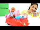 Куклы Барби и Штеффи идут в магазин - Видео про Барби