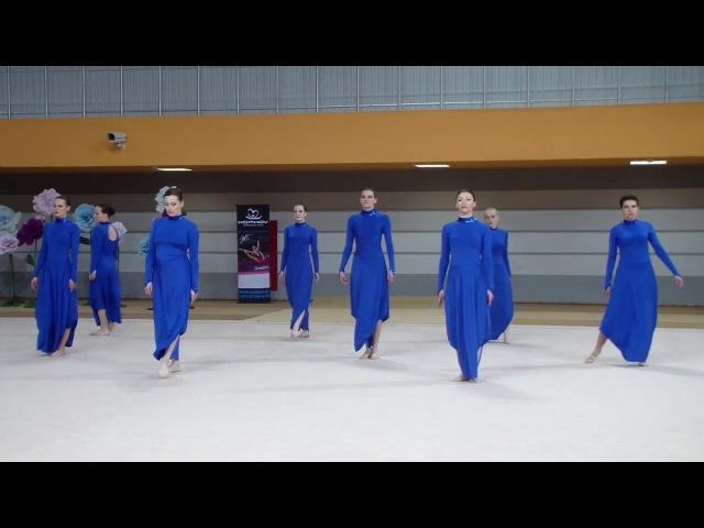 Всебелорусский турнир по эстетической гимнастике Сильфида-Миледи 1