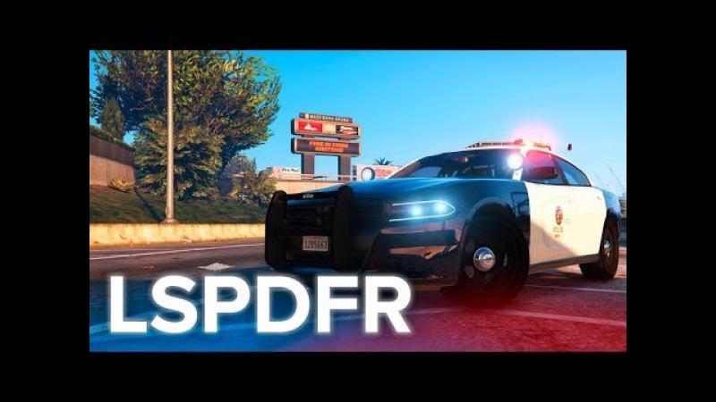 ПОЛИЦИЯ LAPD! | ПОЛИЦЕЙСКИЕ БУДНИ 13 (МОД LSPDFR ДЛЯ GTA 5)