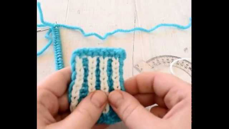 Мастер-класс по вязанию бриошь-шапки Сердца в голове 1 часть