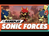 Sonic Forces Gameplay - Taking Down Eggman With A Custom Character E3 2017