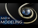 Jewellery Maya Modeling Necklace Luxion Keyshot Rendering