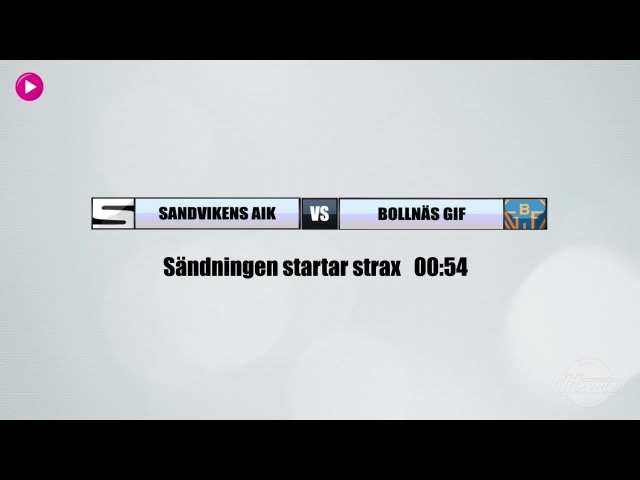 Sandvikens AIK BK Bollnäs GIF Чемпионат Швеции 17 11 2017