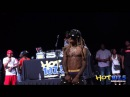 Lil Wanye Suprises Kid Who is Lit AF at HOT 107 5's Summer Jamz VIDEO