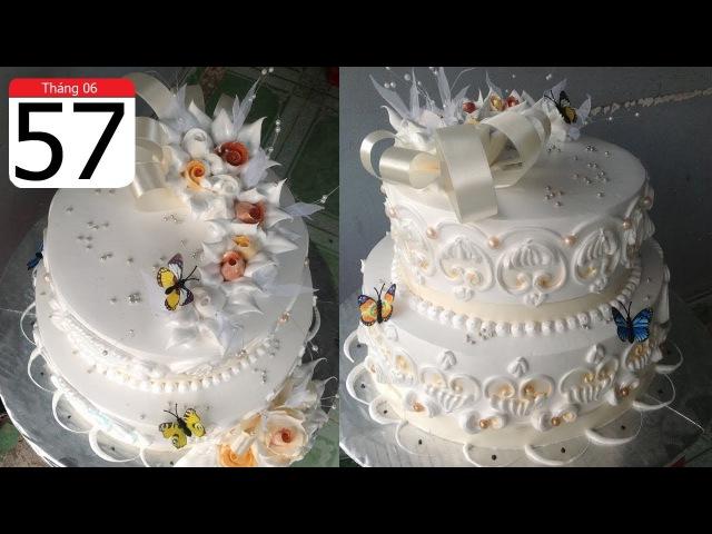 Cách Làm Bánh Kem Đơn Giản Đẹp ( 57 ) Cake Icing Tutorials Buttercream ( 57 )