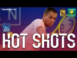Hot Shot: Youzhny Finishes Set In Style In Indian Wells 2017