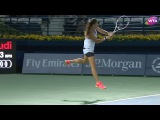 2017 Dubai Duty Free Tennis Championships Day 2 | Shot of the Day | Daria Kasatkina