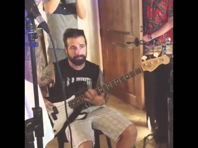 A7X, Of mice and men and Linkin Park jamming together