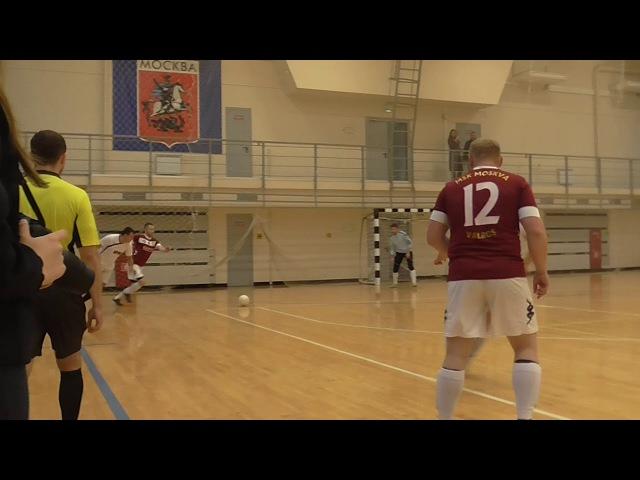 Высшая Лига ЮАО. 8 Тур. Ирм 9:1 Москва