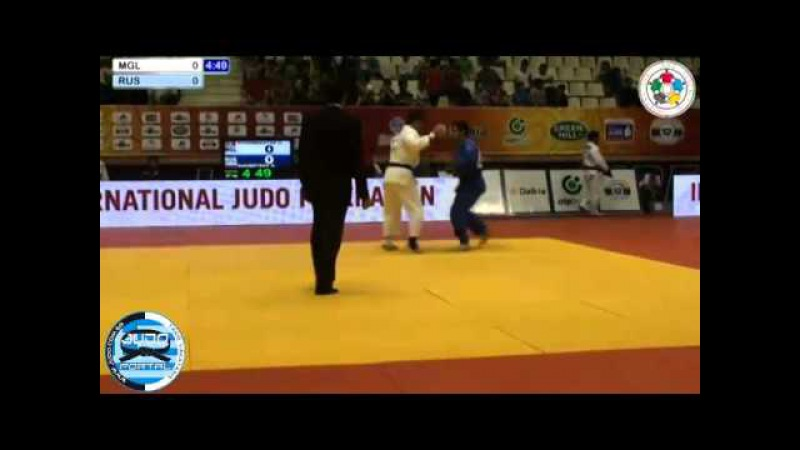 Judo Grand Slam Baku 2013 -81kg OTGONBAATAR (MGL) - KHUBETSOV Alan (RUS)