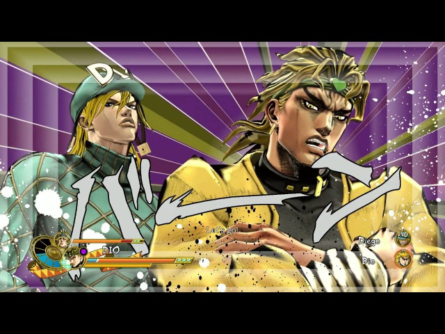 Dio and Dio Vs Dio and Dio (english version and very hard difficulty)