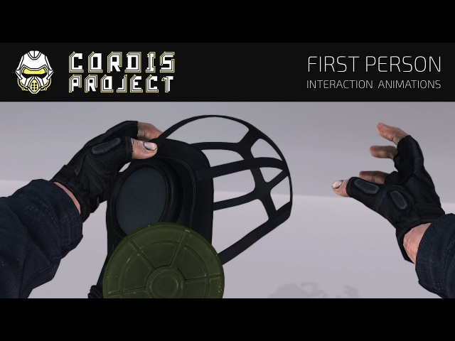 CORDIS PROJECT - First Person Interaction Animations [STALKER COP]