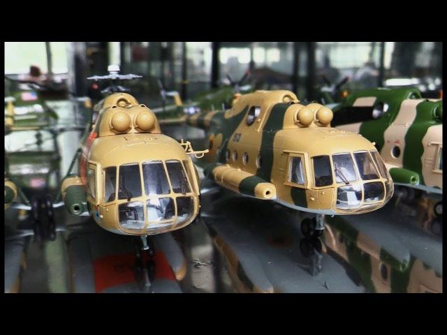 Модели вертолетов: Ми-8МТ, Ми-4, Ми-24, S-58, СН-46E - Easy Model