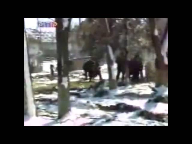 Чечня Захват села Гелаева
