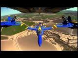 The Blue Angels - Set to Van Halen's Dreams