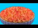 Пирог С Розами Из Яблок Простейший Рецепт Роскошного Десерта