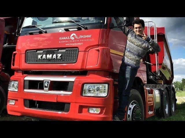 Новый КАМАЗ!) Или когда первый раз на грузовике…) Обзор и тест-драйв KAMAZ'а на ADM RACEW...