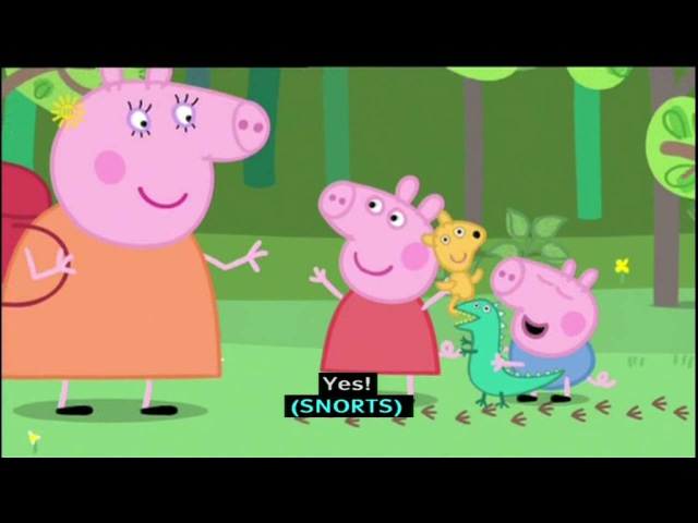 Peppa Pig (Series 2) - Nature Trail (with subtitles)