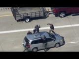 Эпический захват преступника полицией Детройта