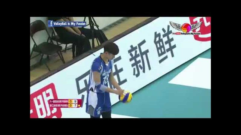 Bayi (八一) VS Zhejiang(浙江) | 09-11-2017 | Chinese Men's volleyball super league 2017/2018