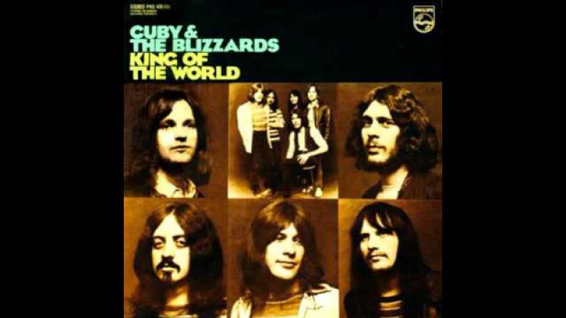 Cuby and The Blizzards, King Of The World 1970 ( Album )