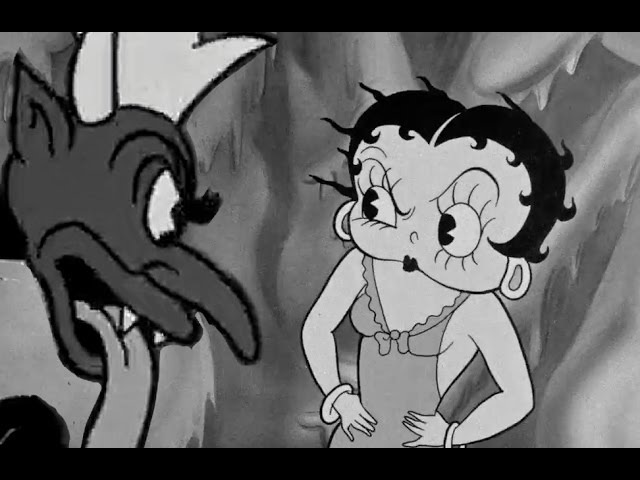 Betty Boop Red Hot Mamma HD 1934 Animation BANNED in the U K in 1934 that is