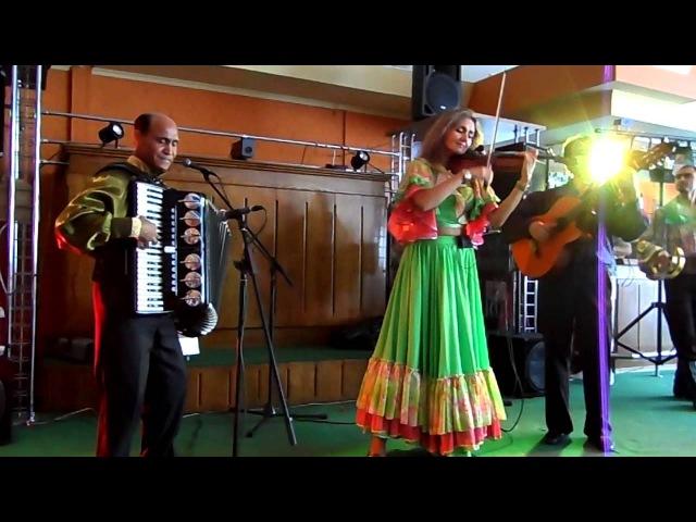 Цыганский ансамбль - Ягори. Чардаш Монти. Аккордеон, скрипка, гитара.