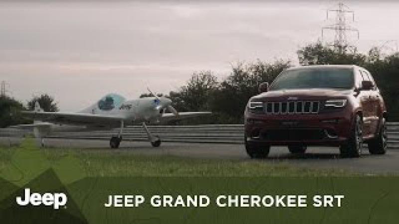 Jeep UK | Jeep Grand Cherokee SRT races aerobatic twister plane in ultimate hot lap