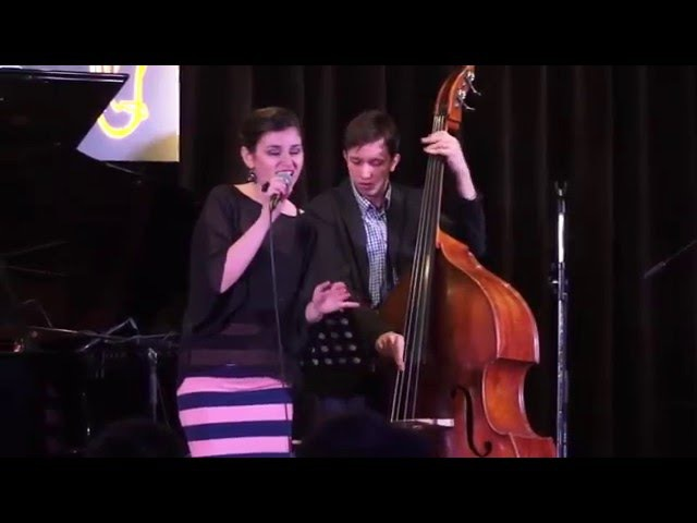 Аделина Моисеева - Exactly Like You (Молодые Поют Джаз)