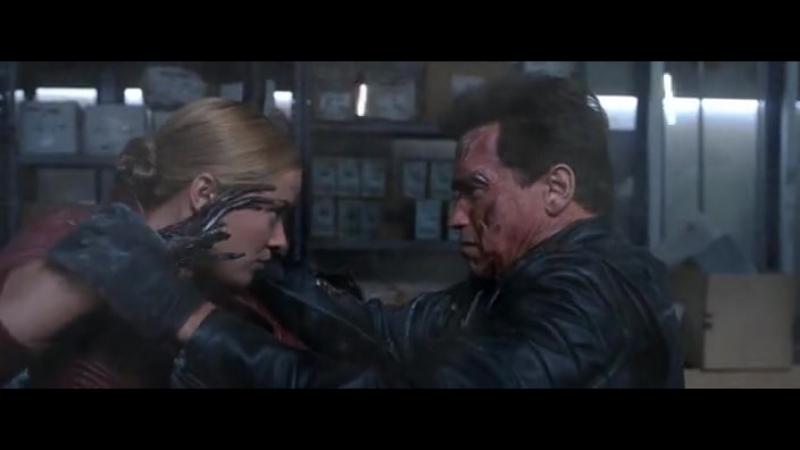 Терминатор 3 - Terminator 3 (драка с TX) перевод Держиморды