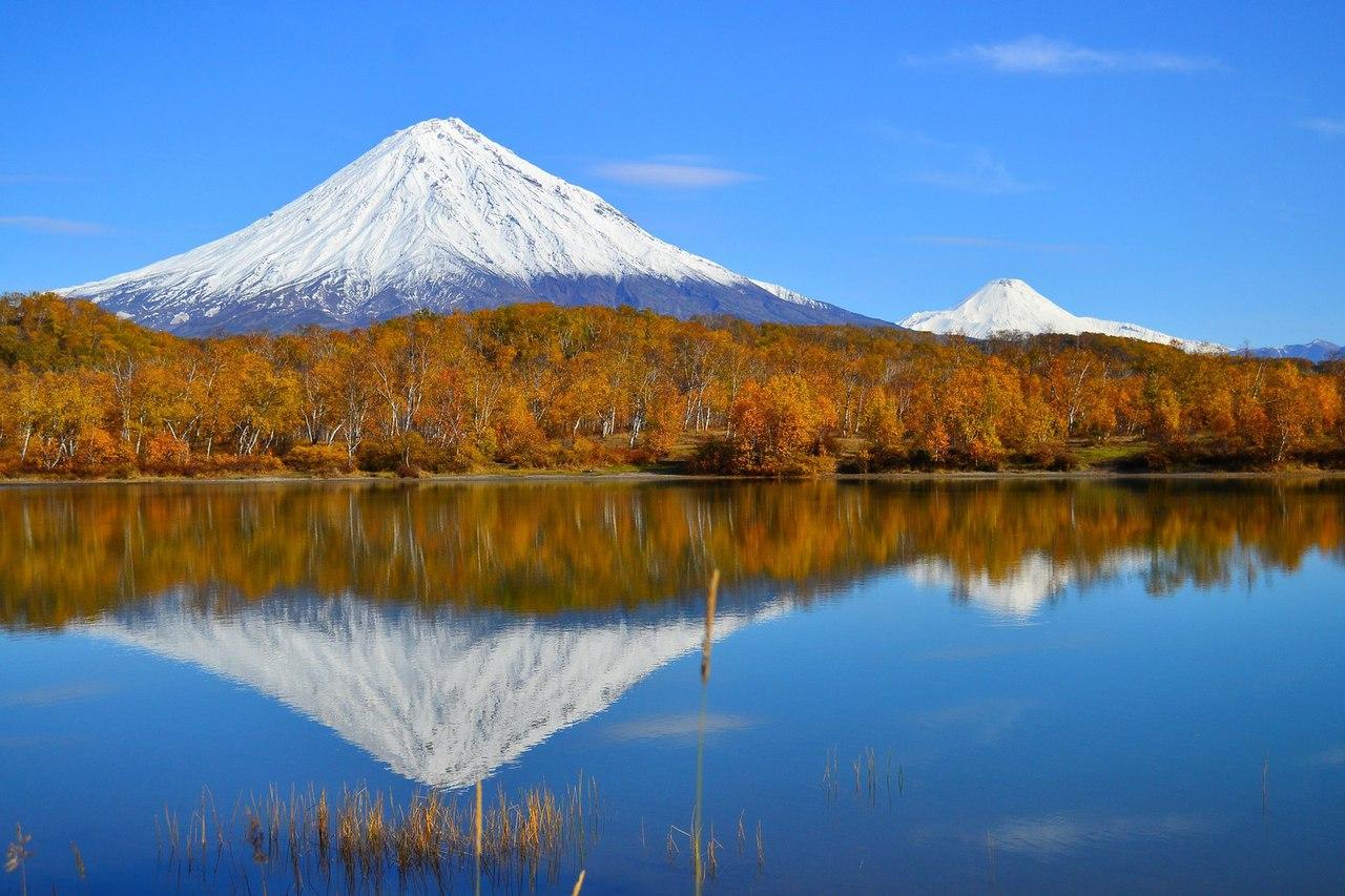 Полуостров Камчатка вулканы